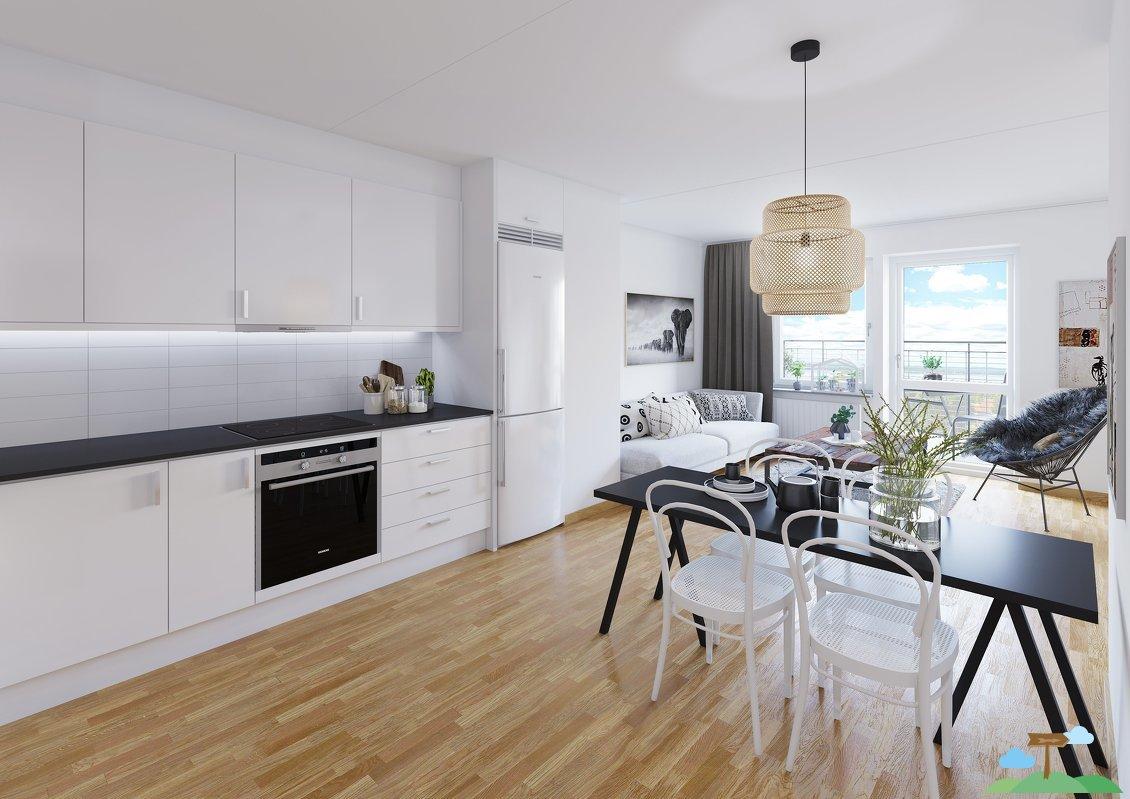 Portfolio Work - Swedish Style Apartment